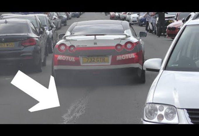BIJZONDER – Nissan GT-R: launch control wordt zelfvernietiging #1