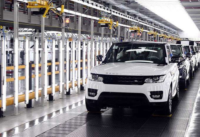 Brexit: Jaguar en Land Rover klaar om het VK te verlaten #1