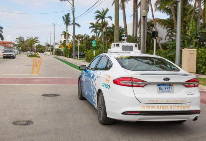 Ford : une filiale dédiée à la voiture autonome #1