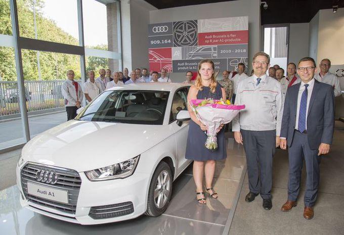 La dernière Audi A1 construite en Belgique #1
