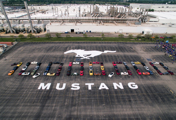 10 millions de Ford Mustang #1
