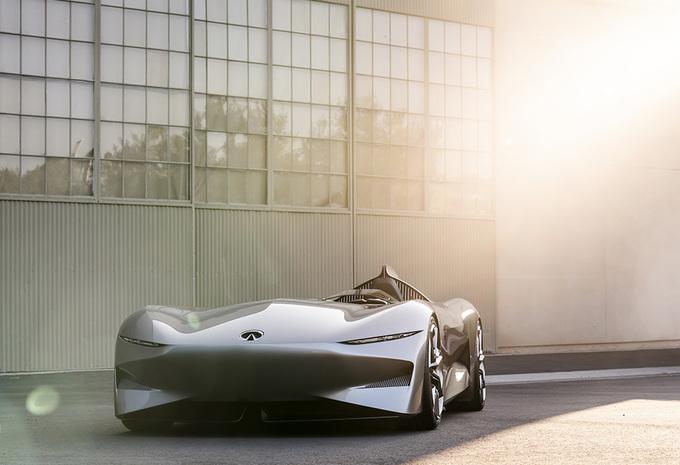 Pebble Beach 2018 – Infiniti Prototype 10 : Speedster électrique style années 50  #1