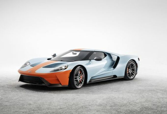 Ford GT Heritage Editions : aux couleurs Gulf #1