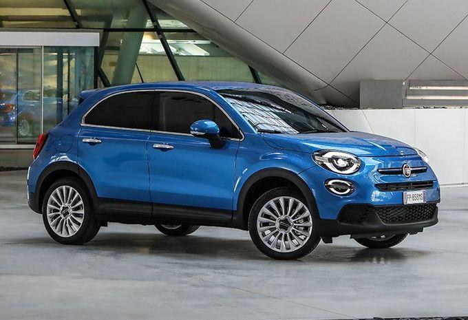 Fiat 500X: kleine facelift en Renegade-motoren #1
