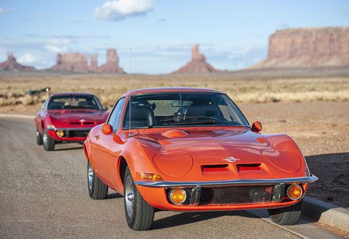 Opel viert 50 jaar GT op de Route 66 #1