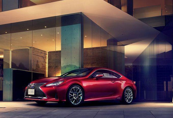 Lexus RC : design rafraîchi et amortissement revu #1