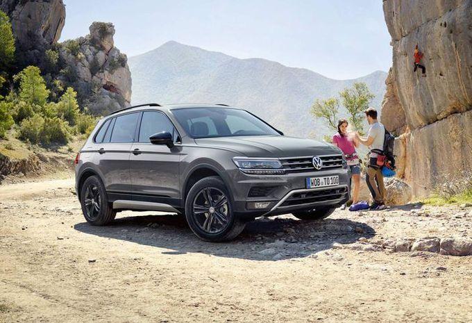 Volkswagen Tiguan Offroad : meilleur angle d'attaque #1