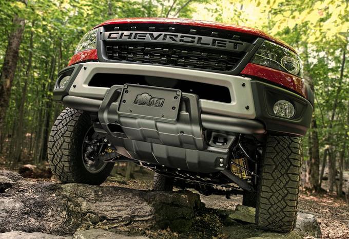 Chevrolet Colorado briest als een bison #1