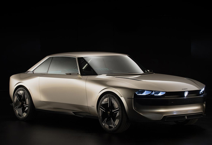 Peugeot E-Legend Concept is elektrisch eerbetoon aan de 504 Coupé #1