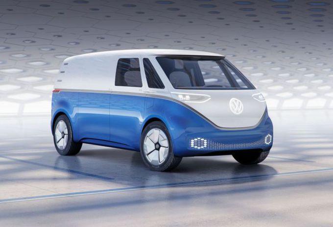 VW I.D. Buzz Cargo: nostalgische bestelwagen #1