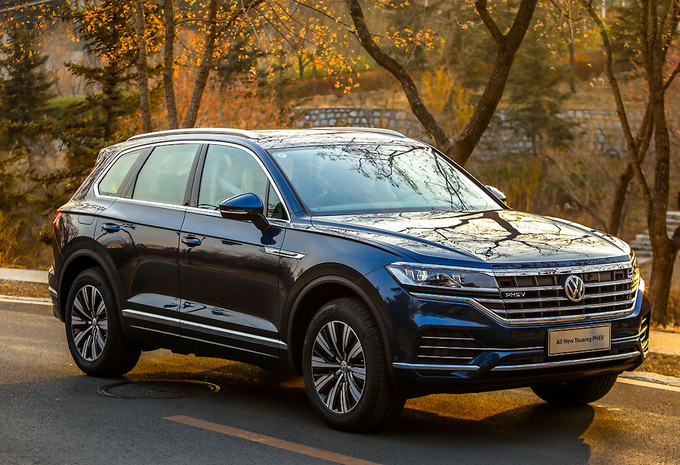 Plug-inhybride Volkswagen Touareg heet PHEV, niet GTE #1