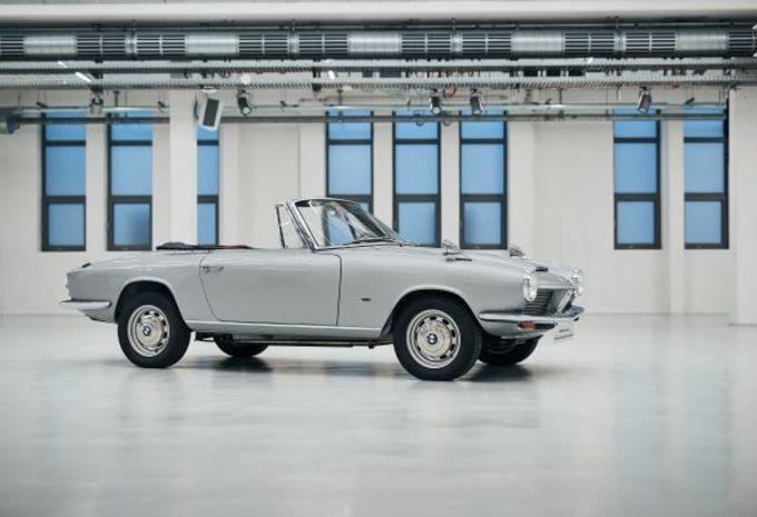 Des apprentis ont restauré la BMW 1600 GT Cabrio #1