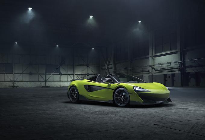 McLaren 600LT Spider : en 2019 uniquement #1