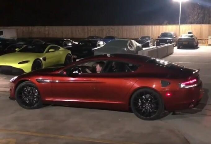 L'Aston Martin RapideE prête à rouler #1