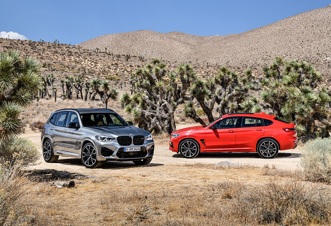 BMW X3 & X4 M : directement en version « Competition » #1