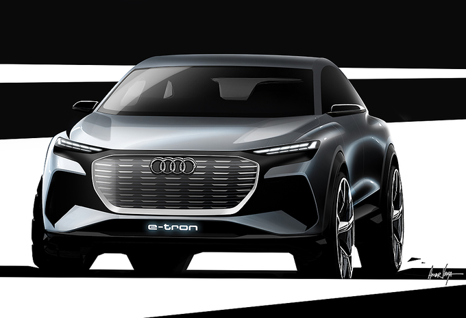 Audi Q4 e-Tron : avant la version de production de 2020 #1