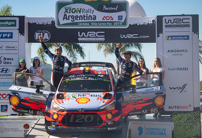 Slimme Thierry Neuville wint ook rally van Argentinië #1