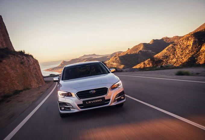 Subaru Levorg: exit 1.6, hallo 2-liter #1