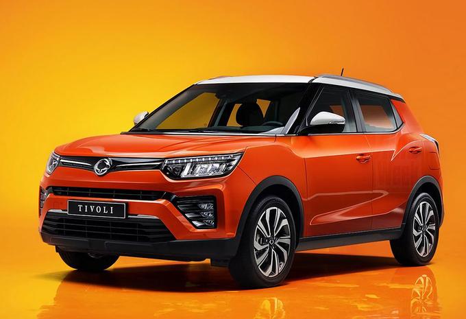 SsangYong Tivoli: instap-SUV krijgt facelift #1