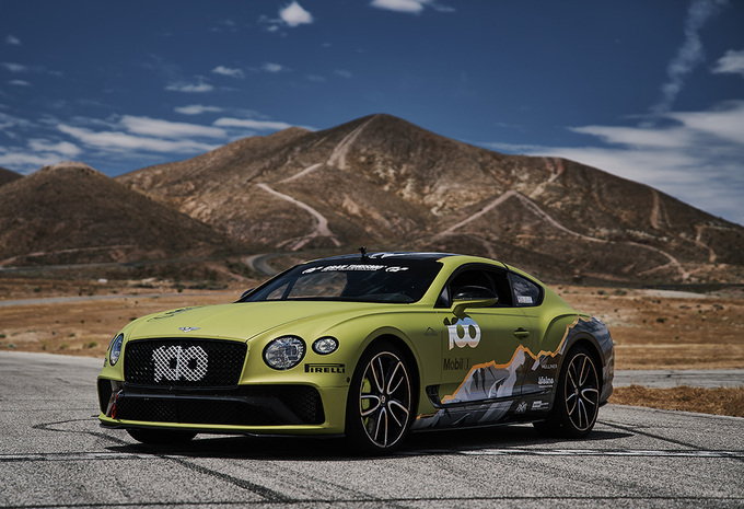 Bentley Continental GT gaat voor Pikes Peak-record - update: mission accomplished #1
