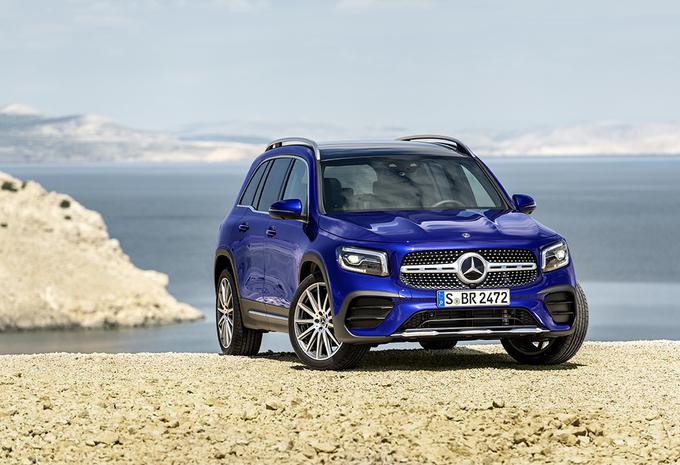 Mercedes GLB: praktische avonturier #1