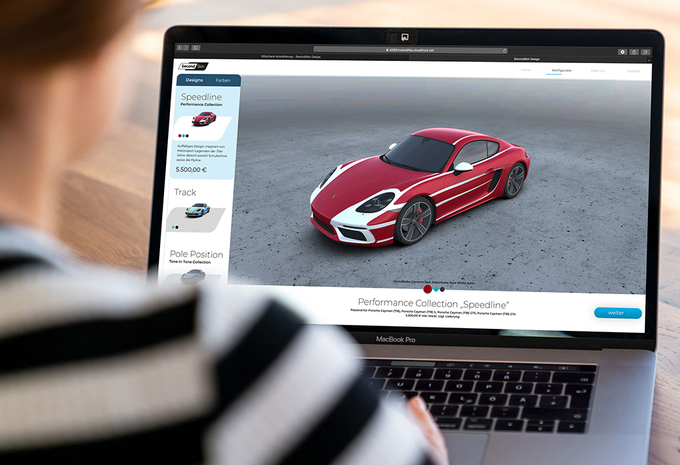Porsche Second Skin is online tool voor speciale wraps #1