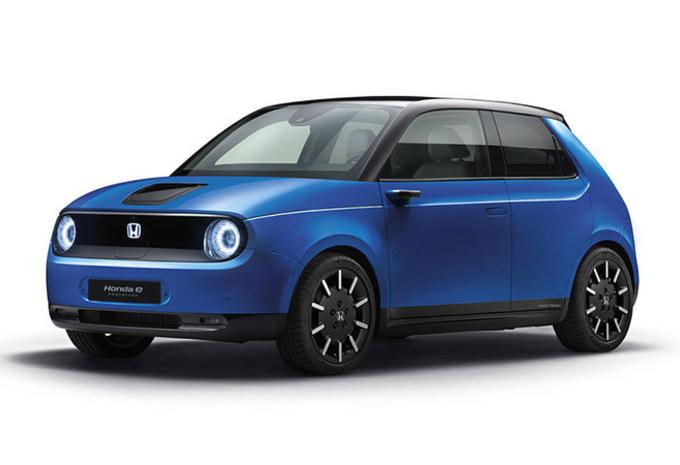 Honda e: details bekend van de kleine elektrische stadswagen #1
