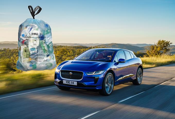 Jaguar Land Rover gaat onderdelen maken van plasticafval #1