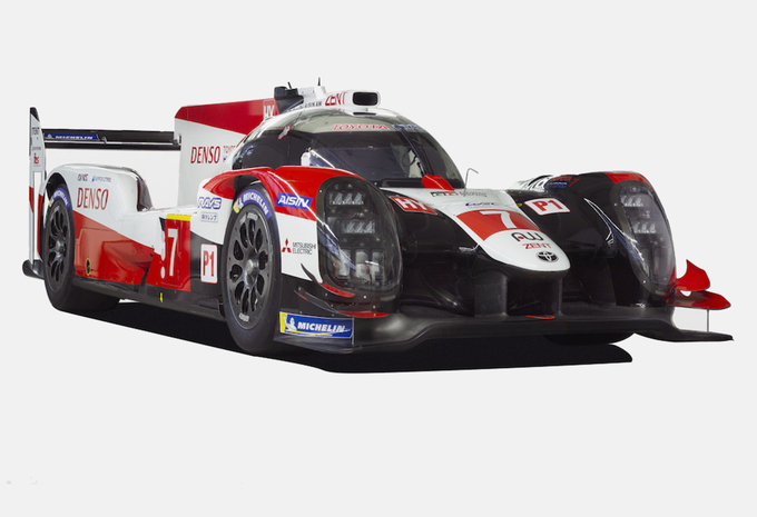 Toyota's nieuwe TS050 gaat voor derde Le Mans-titel #1