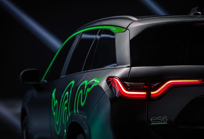 Nio ES6 Night Explorer is elektrische SUV met RGB-verlichting #1