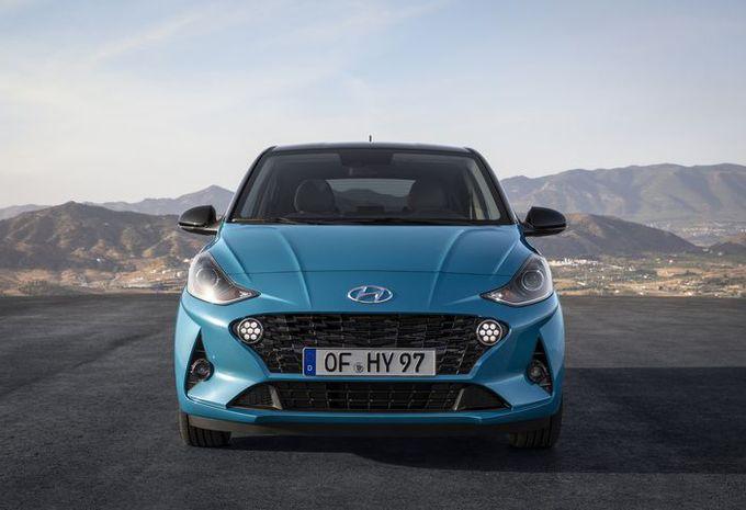 Hyundai i10 heeft een stoute snuit gekregen #1