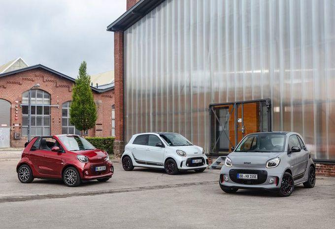 Smart : la gamme révisée en 100 % électrique #1