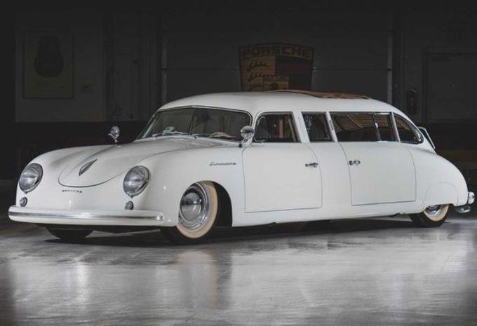Une Porsche 356 Limousine vendue aux enchères #1