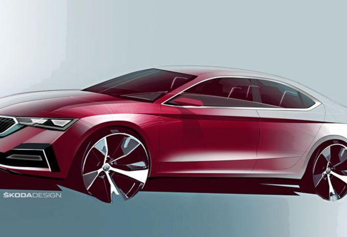 Škoda Octavia : les esquisses de la nouvelle génération #1