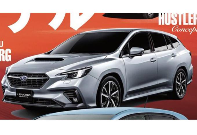 Subaru Levorg: tweede generatie lekt uit voor Tokio #1