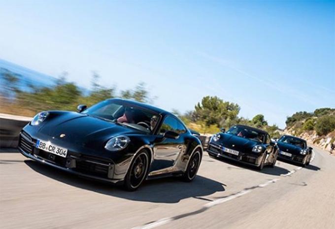 Porsche 911 Turbo et Turbo Cabriolet : sortie de développement #1