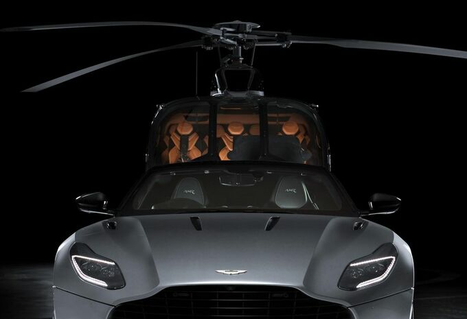 Aston Martin neemt de helikopter met Airbus #1
