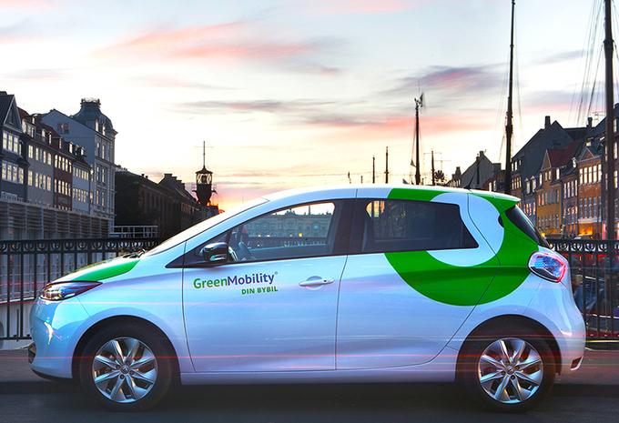 L'autopartage GreenMobility débarque en Belgique #1