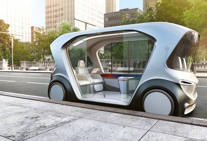 Bosch is klaar om morgen al een autonome auto te lanceren #1
