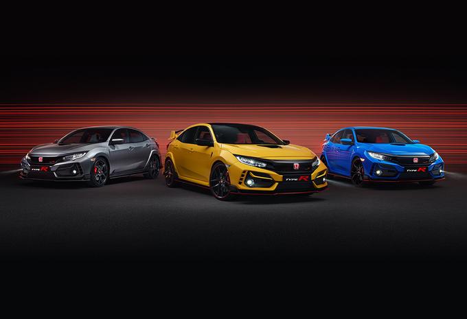 Honda présente la Civic Type R Sport Line et l'extrême Limited Edition #1