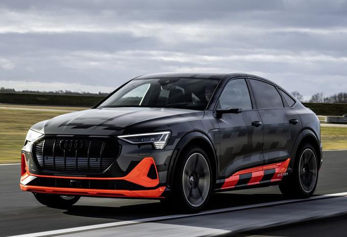 Audi E-Tron Sportback S : avec un trio de moteurs #1