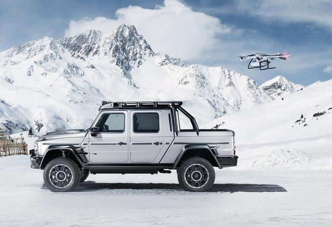 Brabus maakt pick-up met 800 pk van nieuwe G-Klasse #1