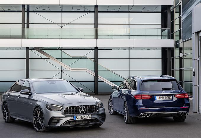 Facelift Mercedes E-Klasse ook als 53 AMG 4Matic+ #1