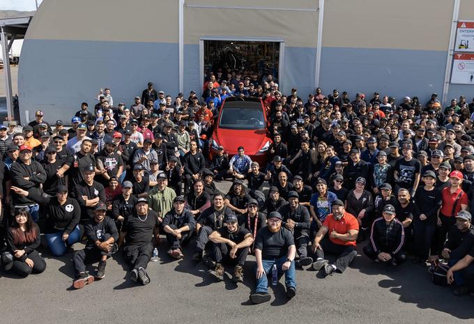 Tesla : 1 million de voitures produites #1
