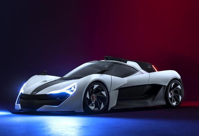Apex AP-0 : sportive EV avec instructeur holographique #1