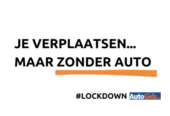 Lockdown: je verplaatsen maar zonder auto #1