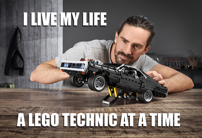 Lego Technic Fast & Furious Charger is net te laat voor quarantaine #1