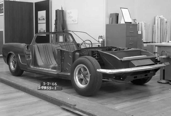 Ford maakte ooit Mustang met middenmotor... maar is vergeten waarom! #1