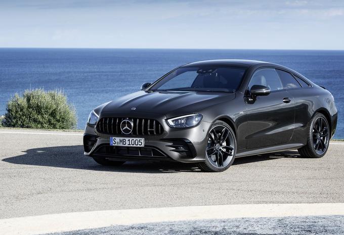 Facelift voor Mercedes E, nu ook de Cabrio en Coupé #1