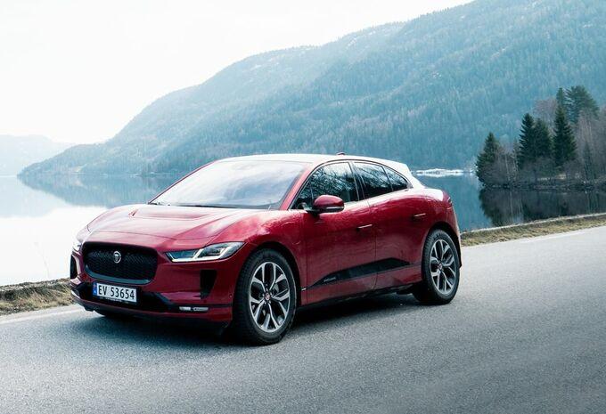 Jaguar i-Pace : flotte de taxis à charger sans fil #1